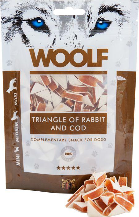 Brit WOOLF 100g RABBIT TRIANGLE COD VAT006649