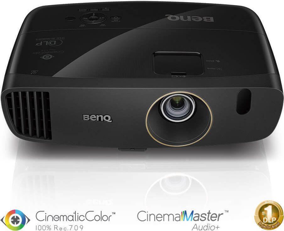 Projector BenQ W2000+, DLP, 1080P, 2000 ANSI, 15 000:1 projektors