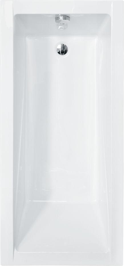 Wanna Besco Modern prostokatna 140 x 70cm  (WAM-140-MO) WAM-140-MO