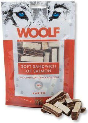 Brit WOOLF przys.PIES 100g SOFT SANDWICH SALM VAT003195