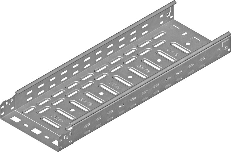 Baks Korytko kablowe perforowane 150x60mm 0,7mm KFL150H60/3 (161423) 161423