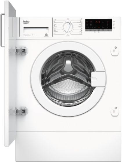 Pralka Beko  WITC 7612B0W WITC7612B0W Iebūvējamā veļas mašīna