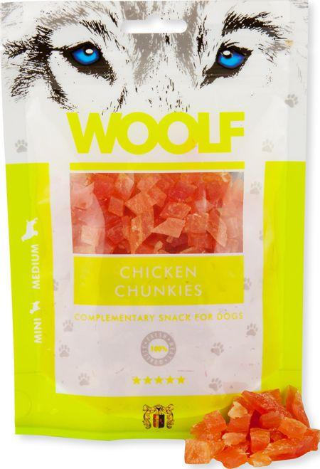 Brit WOOLF 100g CHICKEN CHUNKIES VAT005150