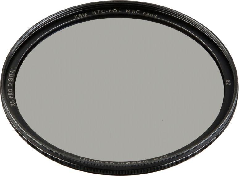 B+W XS-Pro Digital HTC Zirkularpolfilter Kasemann MRC nano 82 foto objektīvu blende