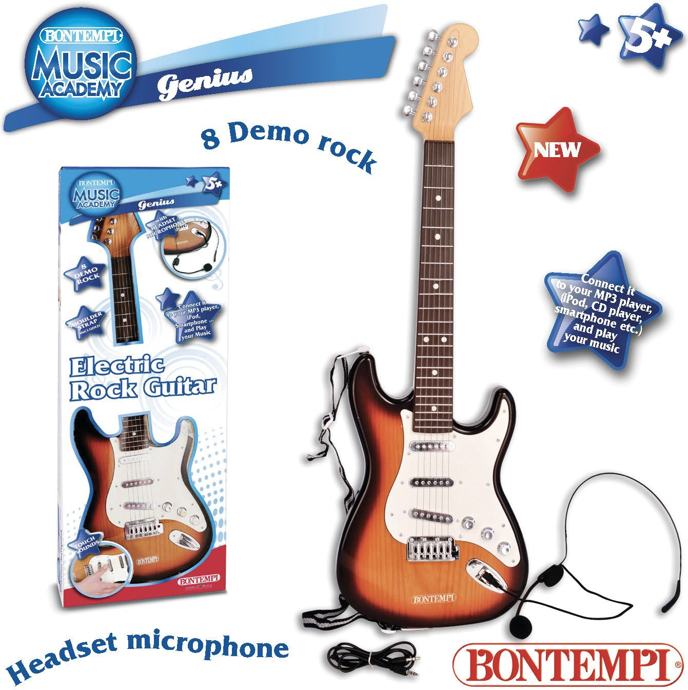 Bontempi Electronic guitar - set