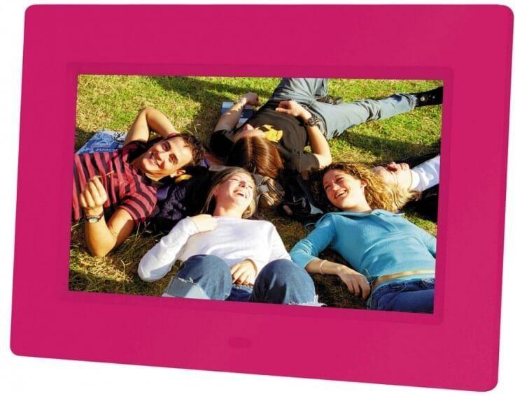 Digital Frame BRAUN 709  pink Foto rāmītis