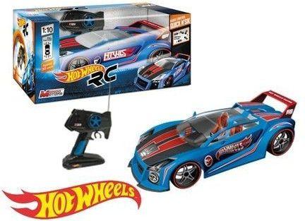 Hot Wheels Spin King 4 Wheels Drive 1/10 Radiovadāmā rotaļlieta