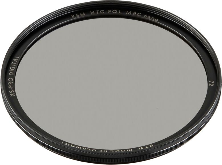 B+W XS-Pro Digital HTC Zirkularpolfilter Kasemann MRC nano 72 foto objektīvu blende