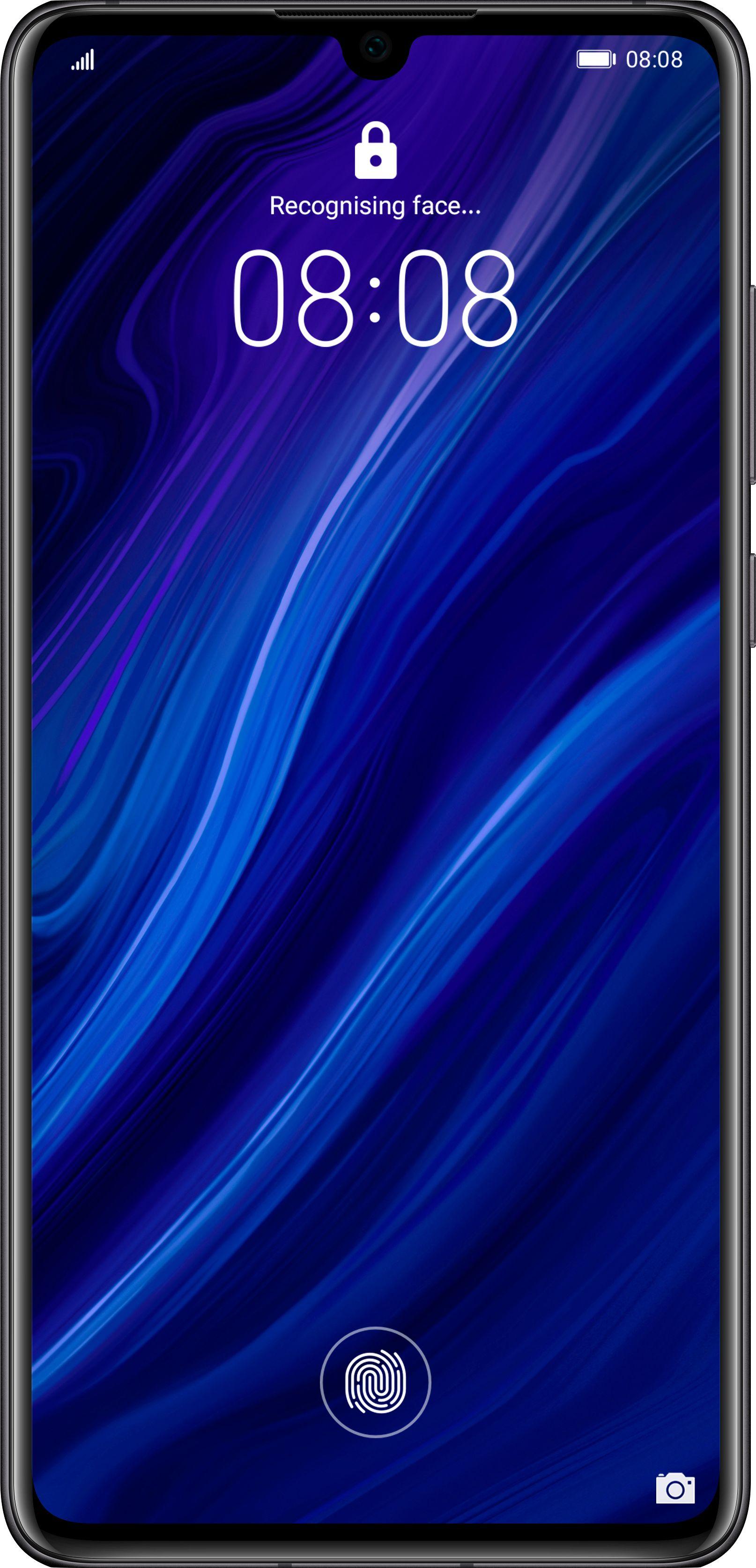 Smartfon Huawei P30 6/128GB Dual SIM Czarny  (6901443284603) 6901443284603 Mobilais Telefons