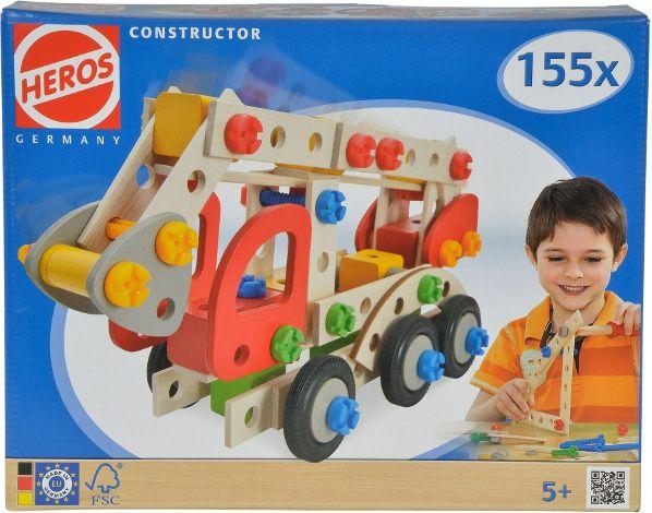 Eichhorn Construction blocks Constructor Fire truck 155 pcs konstruktors
