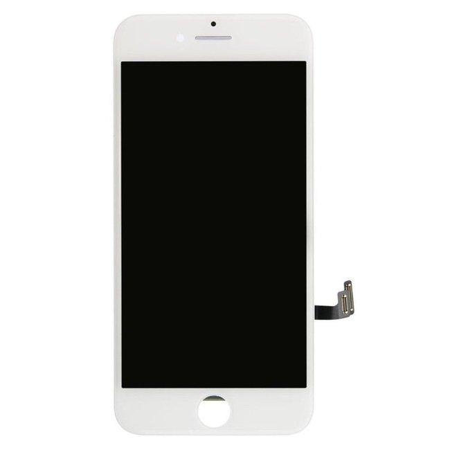 HQ A+ Analogs LCD Skarienjūtīgais Displejs priekš Apple iPhone 7 Pilns modulis Balts aksesuārs mobilajiem telefoniem