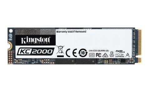 Kingston KC2000 SKC2000M8/500G (500 GB ; M.2; PCIe NVMe 3.0 x4) SSD disks