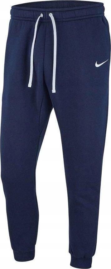 Nike men's team club 19 flc pants navy blue size m (AJ1468 451)