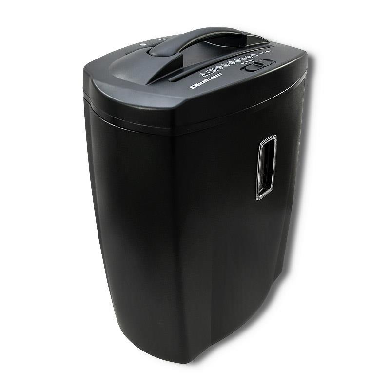 Qoltec 50322 paper shredder Cross shredding 22.3 cm 72 dB Black papīra smalcinātājs