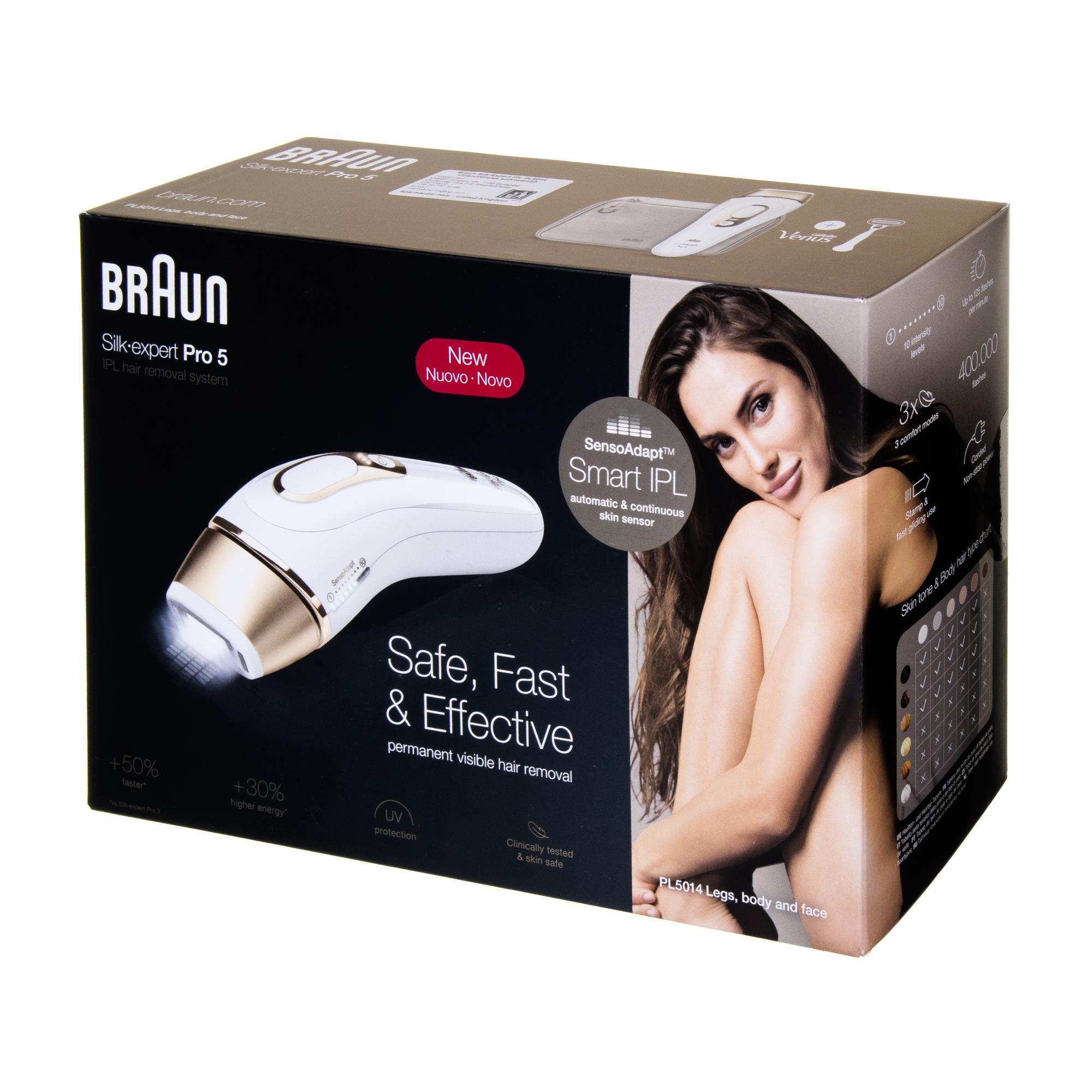 BRAUN Silk-Expert Pro 5 PL5014 IPL Epilators