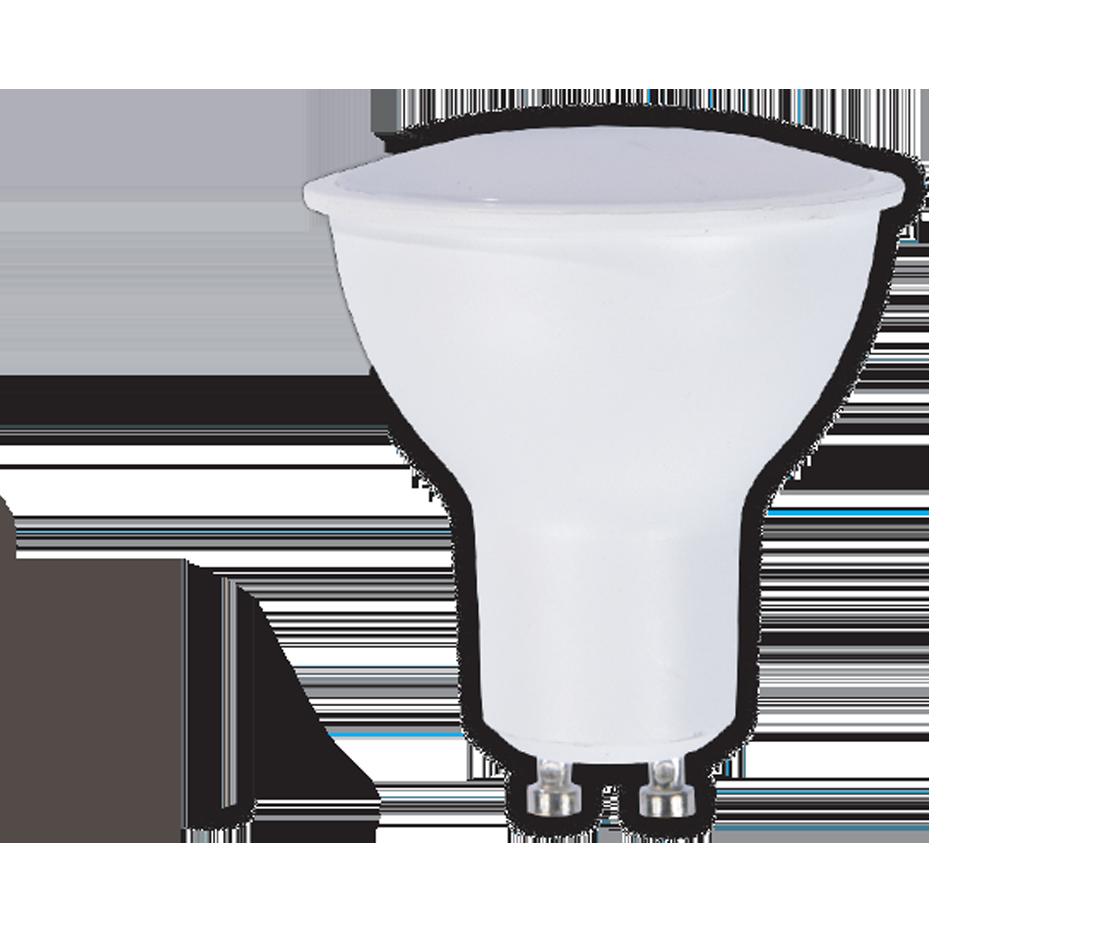 BESK LED spuldze dimmejama 7W GU10 560lm 2700k apgaismes ķermenis