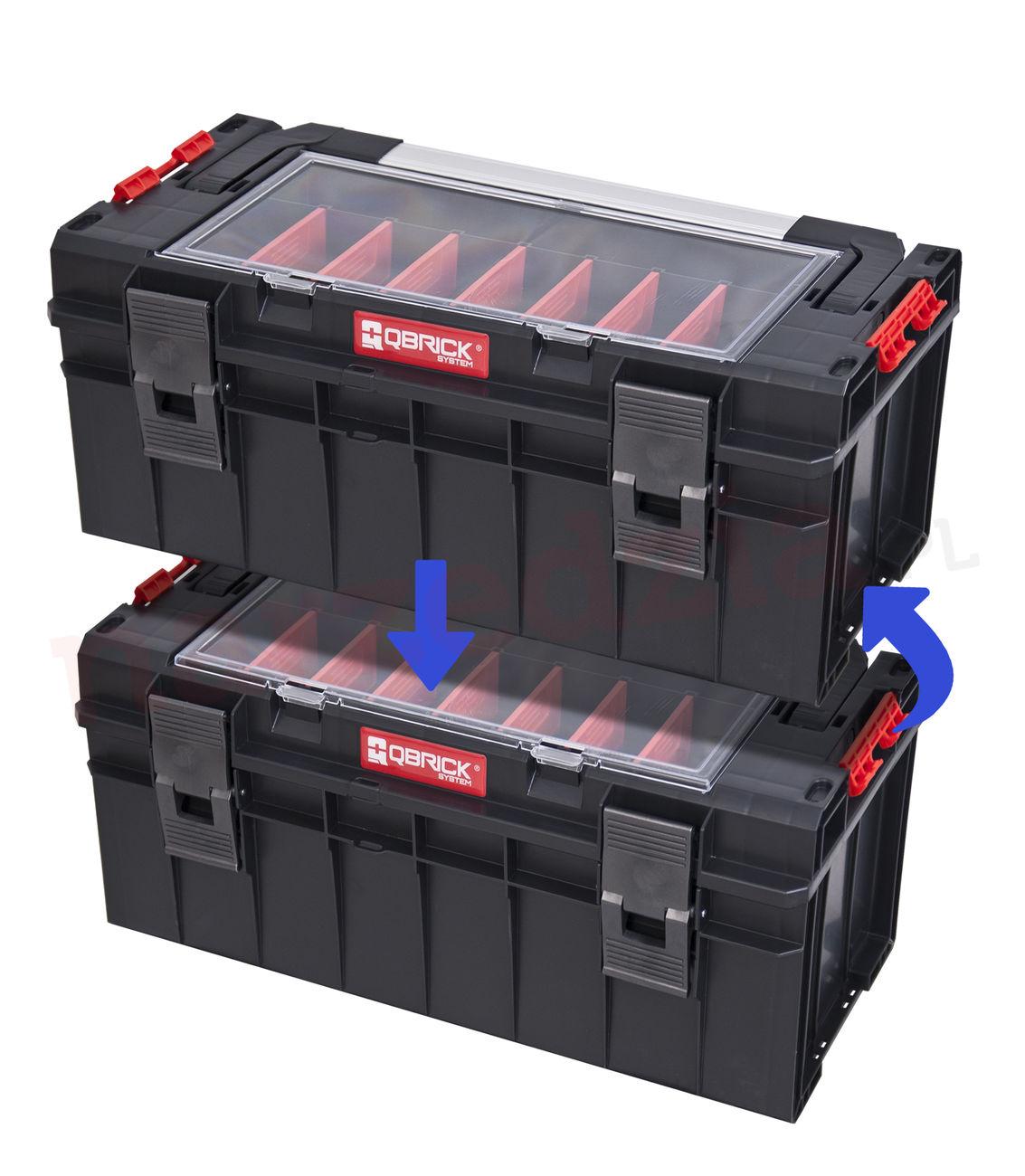 Instrumentu kaste QbrickExpert 700 65x27x27.2cm