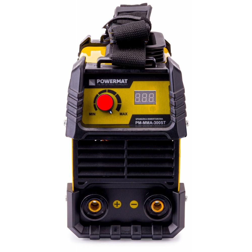 Powermat Metin. invertors 300A LCD lidz 4mm MMA-300ST