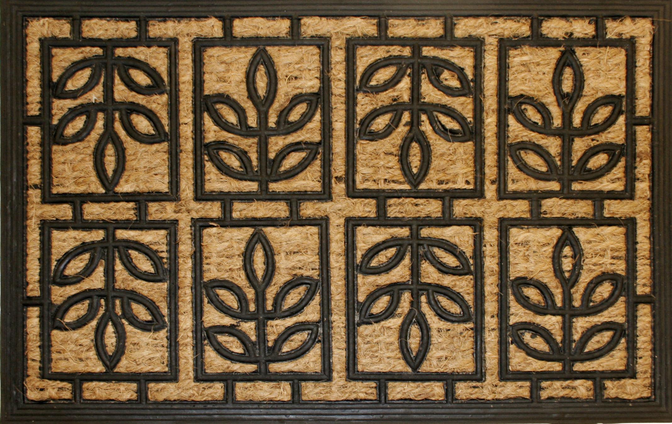 BESK Kajslaukis 40x60cm kokosskiedras ar gumiju lapinas