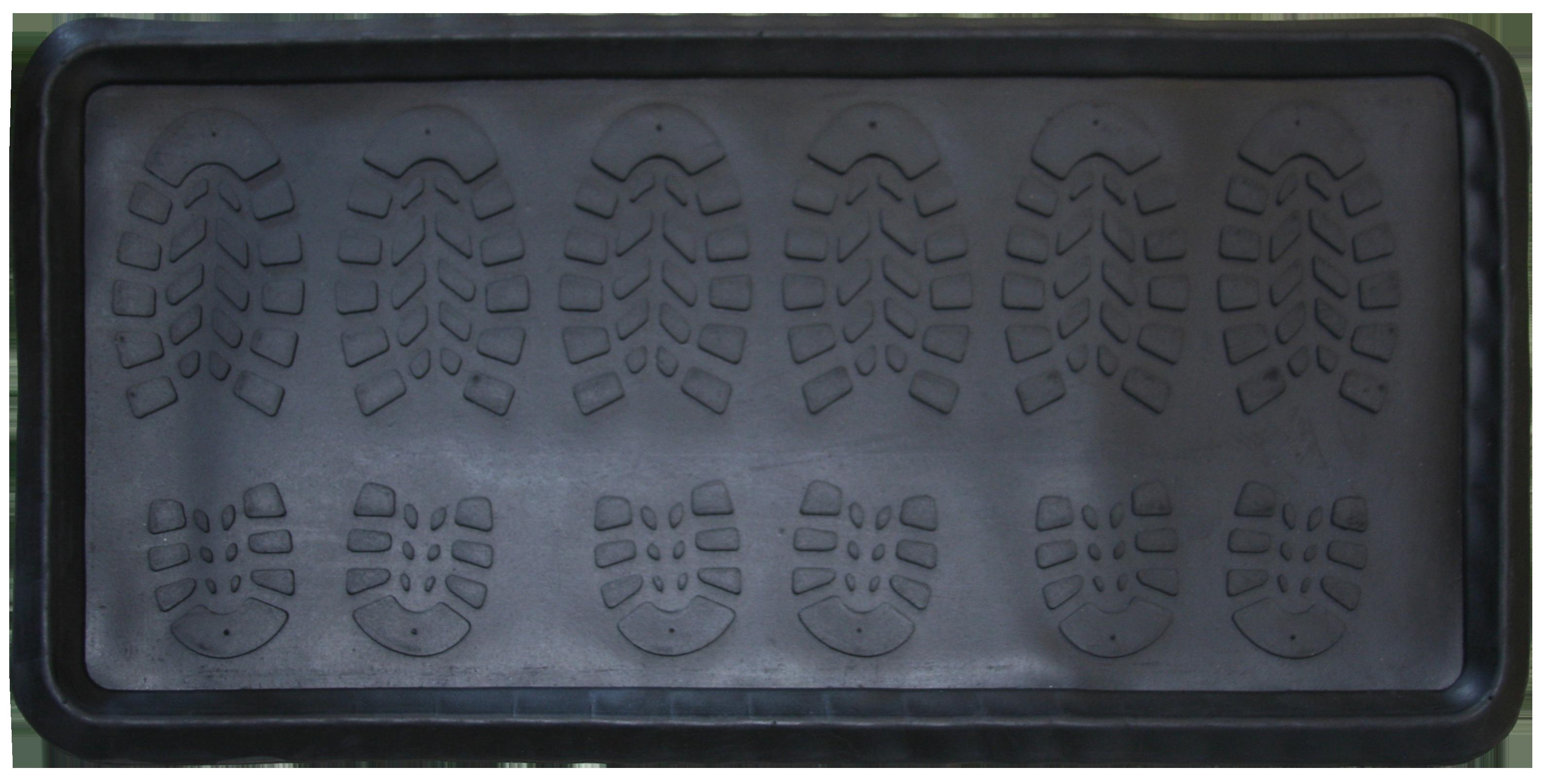 BESK Apavu vannina gumijas 40x60cm pazoles Kopšanas līdzekļi apaviem