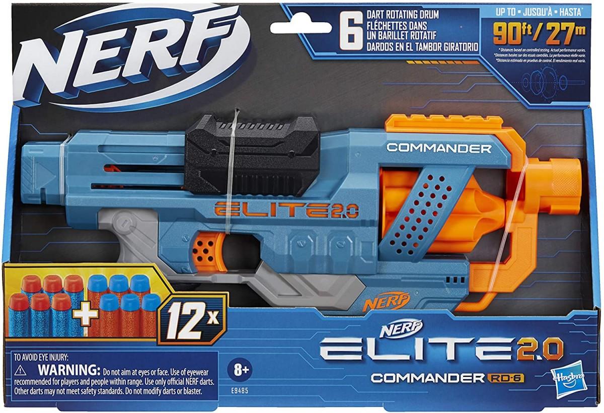 Nerf Elite 2.0 Commander Rotaļu ieroči