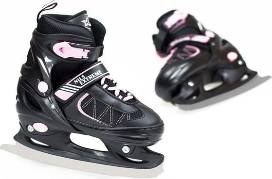 NILS Extreme Roller skates NF7103 A pink-black size 30-33 (16-22-010) Skrituļslidas