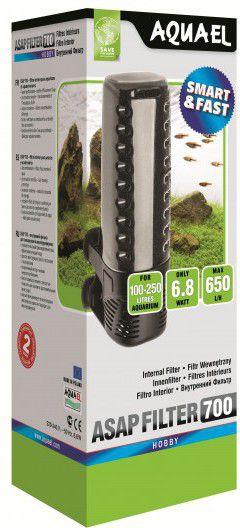 AQUAEL Indoor aquarium filter ASAP 700 akvārija filtrs