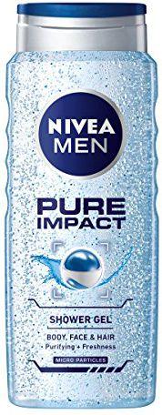 Nivea Pure Impact Shower gel 3in1 500ml kosmētika ķermenim