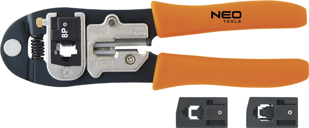 NEO Pliers for telephone terminals 4P, 6P, 8P (01-501)