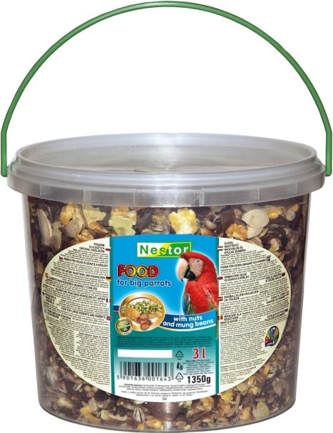 Nestor Pokarm dla papug - 3l 37987