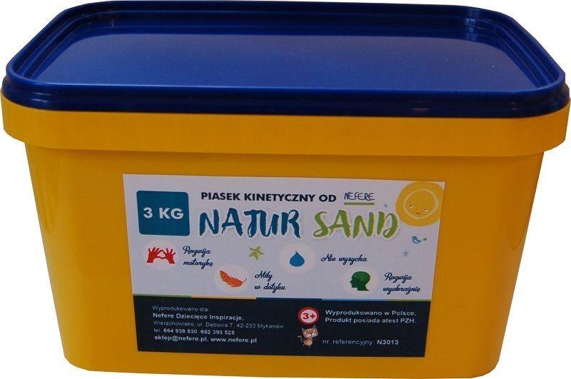 Nefere Kinetic Sand 3kg NaturSand konstruktors