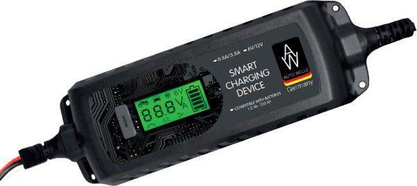 Prostownik samochodowy 6 / 12V 08 - 3,8A DX AW05-1204 auto akumulatoru lādētājs