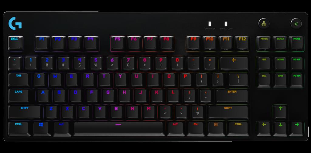 Logitech G PRO Mechanical Gaming Keyboard - BLACK klaviatūra