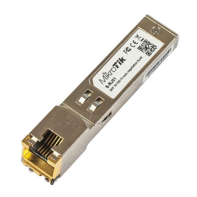 MikroTik S+RJ10 RJ45 SFP+ 10GbE copper module for Mikrotik up to 200m Access point