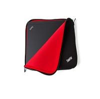 LENOVO ThinkPad 14inch Fitted Reversible zip red-black (25 x 26 x 2,5 cm) portatīvo datoru soma, apvalks