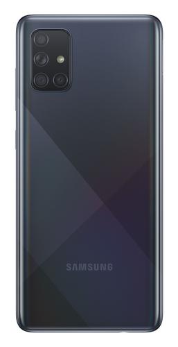 Samsung Galaxy A71 6GB/128GB Black Mobilais Telefons