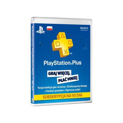 PlayStation Plus Card 90 Day 9235644 spēļu aksesuārs