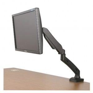ART Desk Holder on gas spring for 1 monitor LED/LCD 13-27'' L-11GD