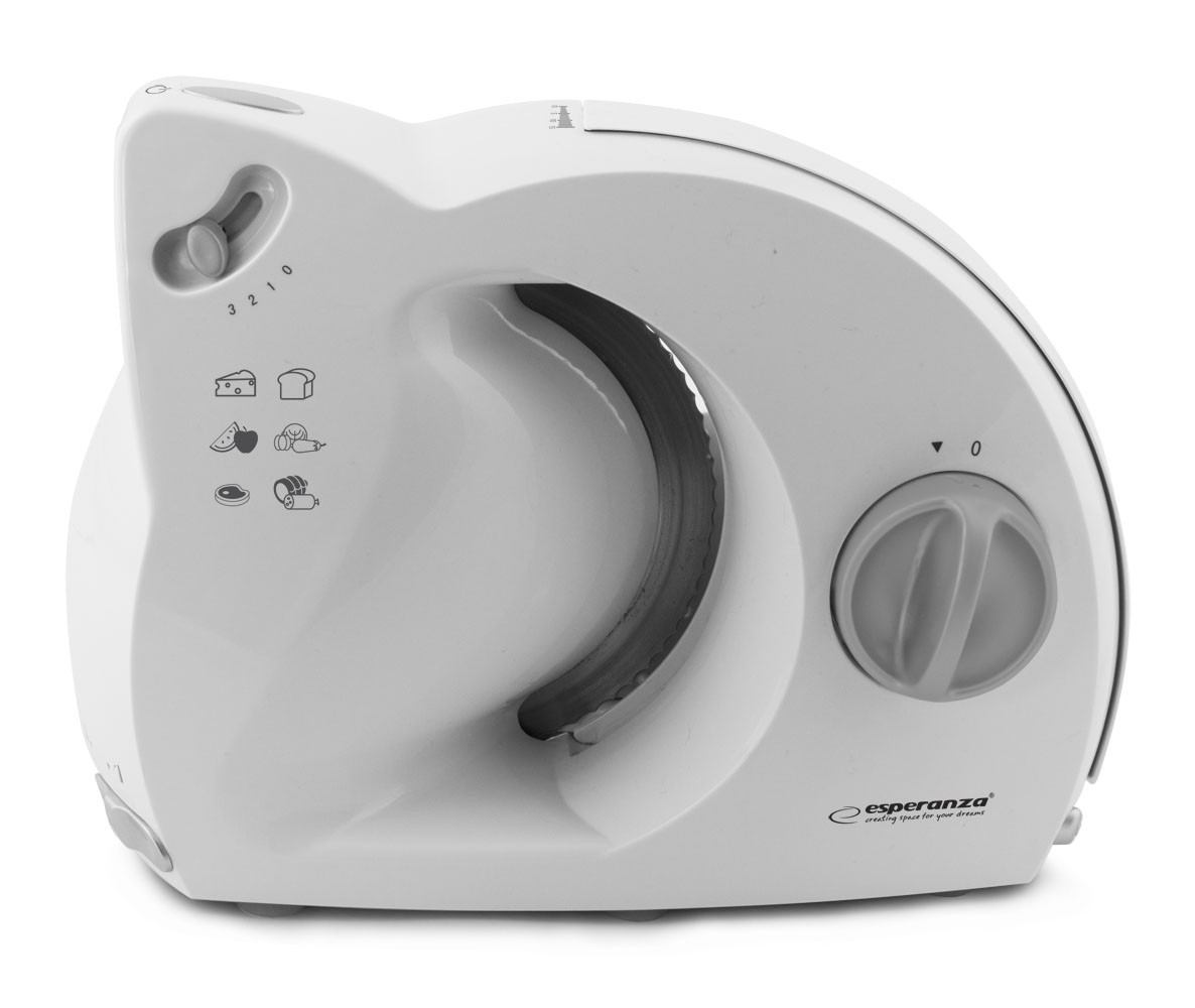 ESPERANZA EKM017W PROSCIUTTO - ELECTRIC  FOOD SLICER 150W