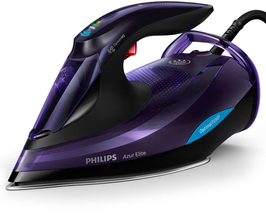 PHILIPS Azur Elite Tvaika gludeklis ar OptimalTEMP tehnoloģiju GC5039/30 Gludeklis