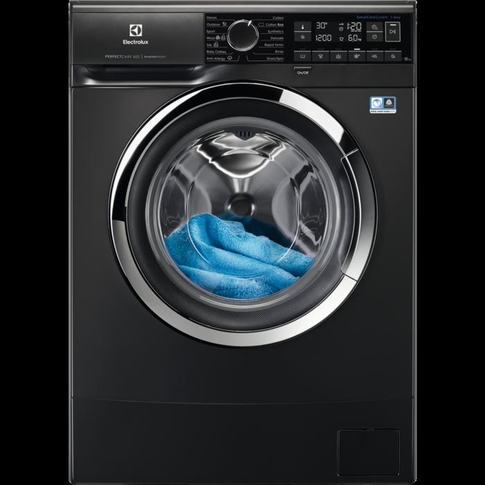 Electrolux veļas mazg.mašīna (front.ielāde) (melna) EW6S226CX Veļas mašīna