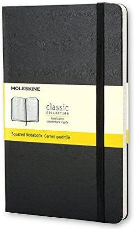 MOLESKINE Notes P checkered Classic black - WIKR-1030418