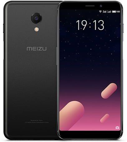 Meizu M6s 3GB/32GB Black Mobilais Telefons