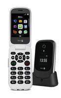 Doro 7060 black/white Mobilais Telefons