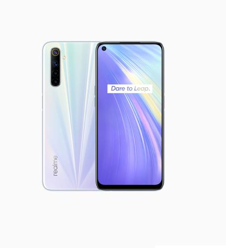 Realme 6 8GB/128GB Comet White Mobilais Telefons