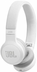 JBL Live 400 Bluetooth On-ear White austiņas