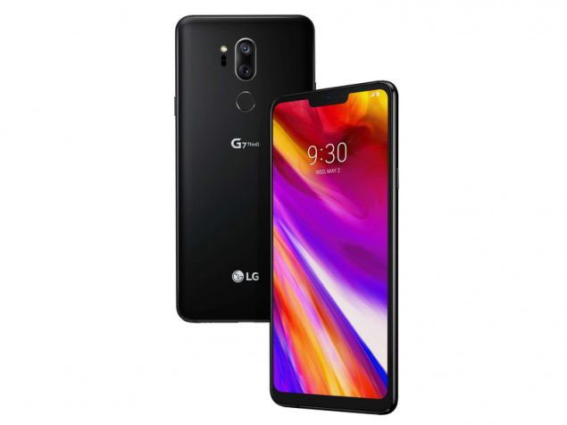 LG G7 ThinQ 64GB, Black Mobilais Telefons