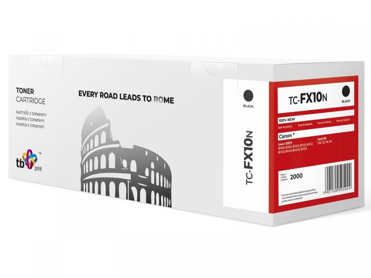 TB Cartridge for Canon FX10 TC-FX10N Black toneris