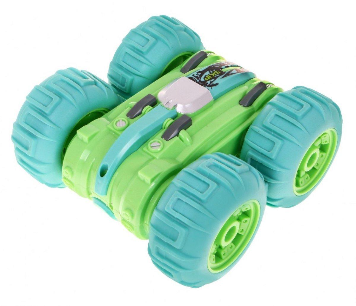 RoGer Radiovadāms Kāpurķēžu Auto- Zaļš Radiovadāmā rotaļlieta