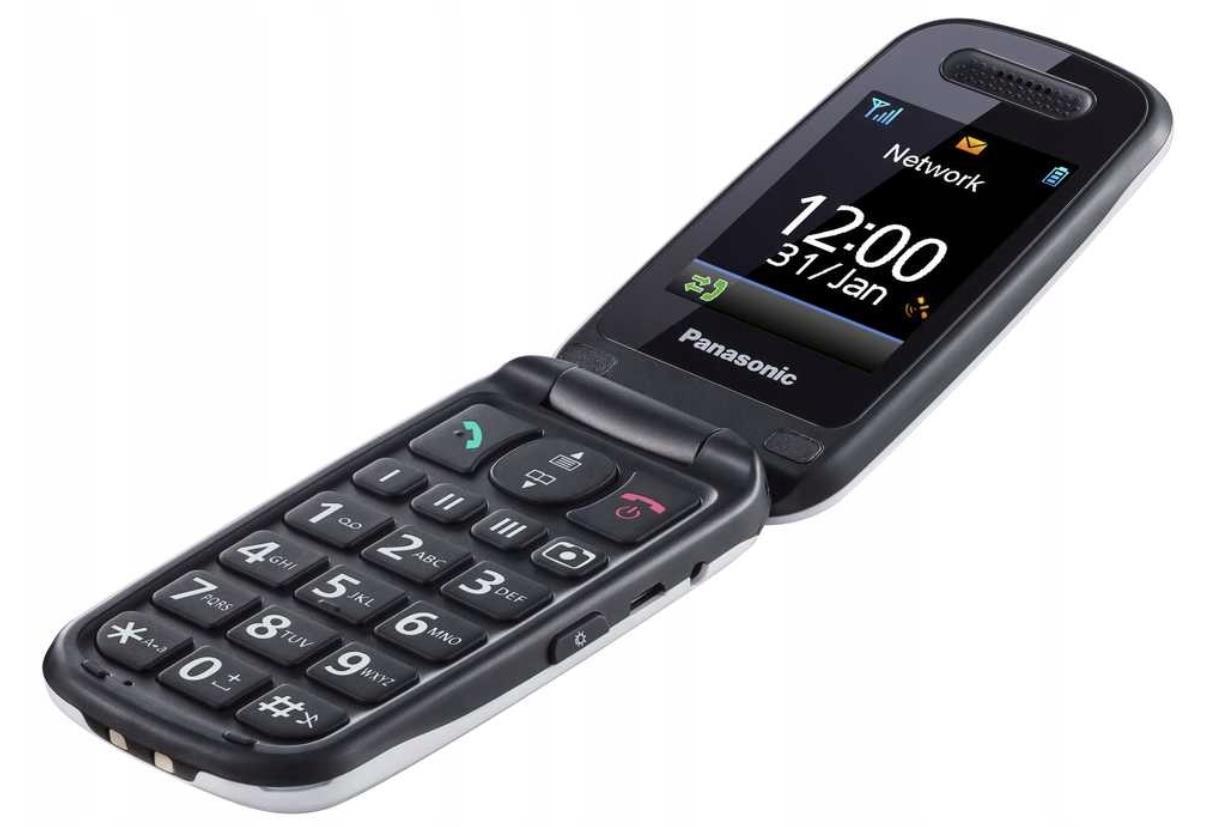 Panasonic KX-TU466 white Mobilais Telefons